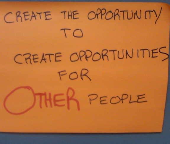 create opportunities