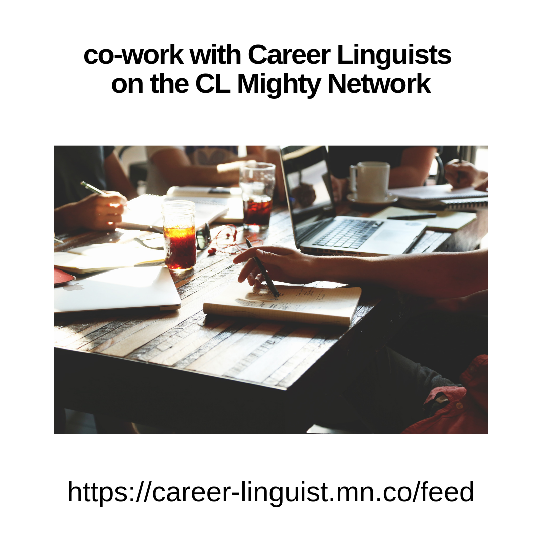 Attend a co-working session on the CL Mighty Network