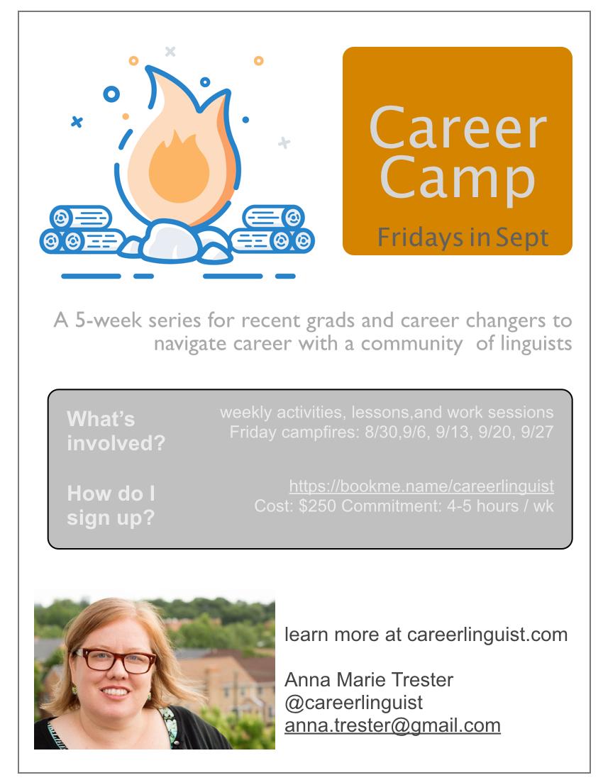 Career Camp flyer - Fall 2019 .001